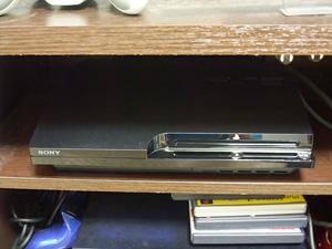 PS3の写真。